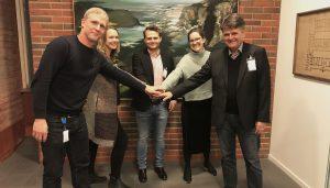 Kontraktsskrivning för Skytteskolan Göteborg